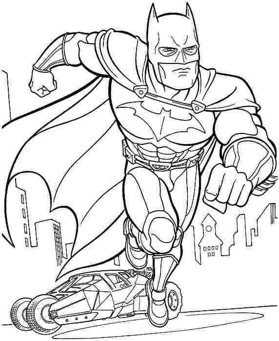 Batman Coloring Pages Coloring Book of Coloring Page