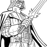 free printable darth vader coloring pages