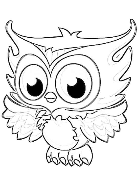 printable snowy owl coloring pages
