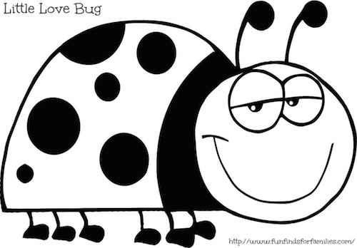 Funny ladybug coloring pages free printable for Coloring pages of ladybugs