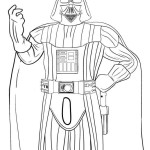 printable darth vader star wars coloring pages
