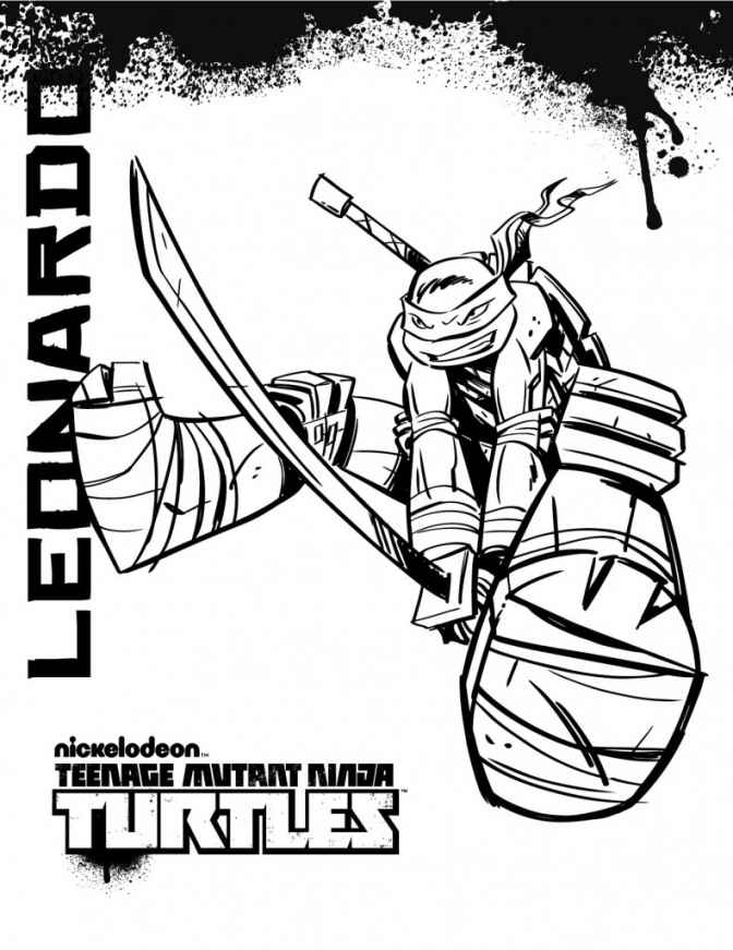 Teenage Mutant Ninja Turtles Coloring Pages Nickelodeon Teenage Mutant Ninja Turtles Coloring Pages Printable You Will Love