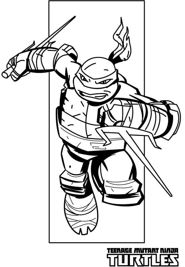 Teenage mutant ninja turtles coloring pages raphael for Coloring pages turtles ninja