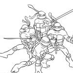 teenage mutant ninja turtles michelangelo coloring pages ...