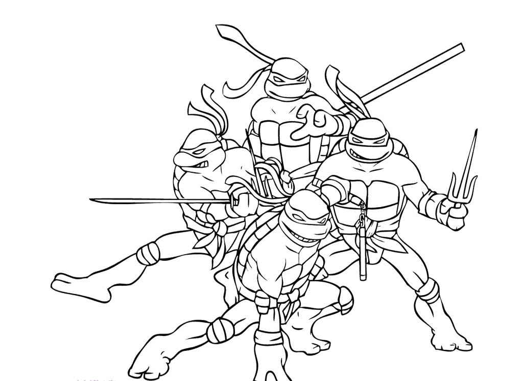 teenage mutant ninja turtles 2015 printable coloring pages