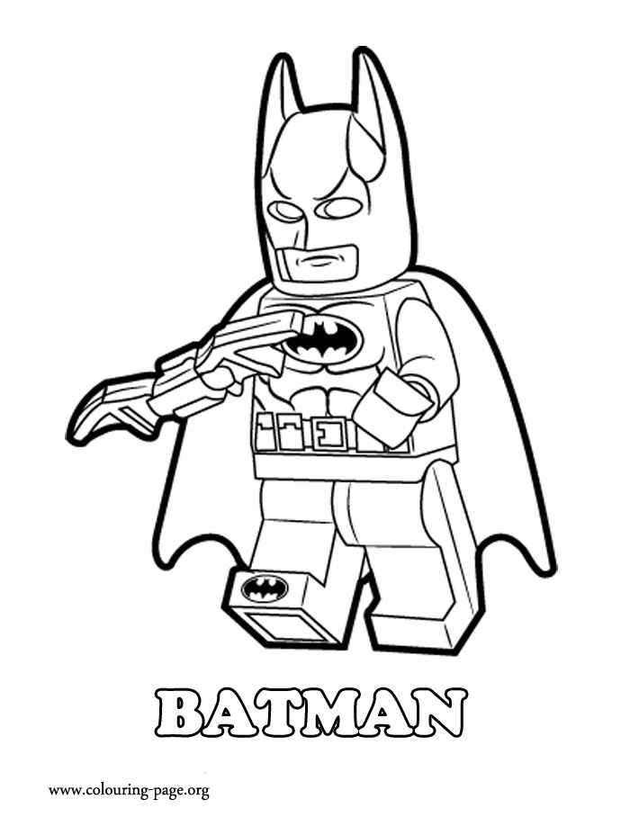 Printable Lego Colouring Pictures : Lego batman coloring pages printable for