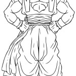 dragon ball z coloring pages vegeta super saiyan 4
