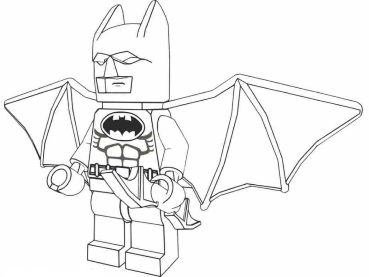 Lego batman 2 coloring pictures for Batman coloring pages to print