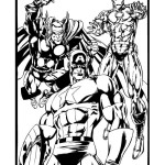 ironman and captain america coloring pages