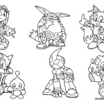 Sonic the hedgehog coloring pages to color in online tails for Sonic the hedgehog and friends coloring pages
