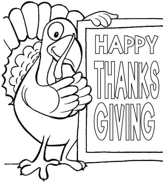thanksgiving holiday coloring pages - photo#18