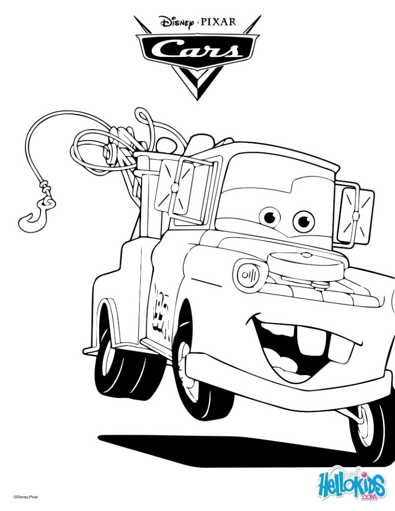 free cars movie disney coloring pages for boys coloring pages