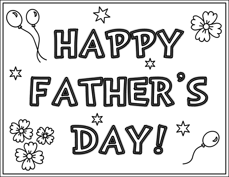 Free-Father's-Day-Coloring-Pages