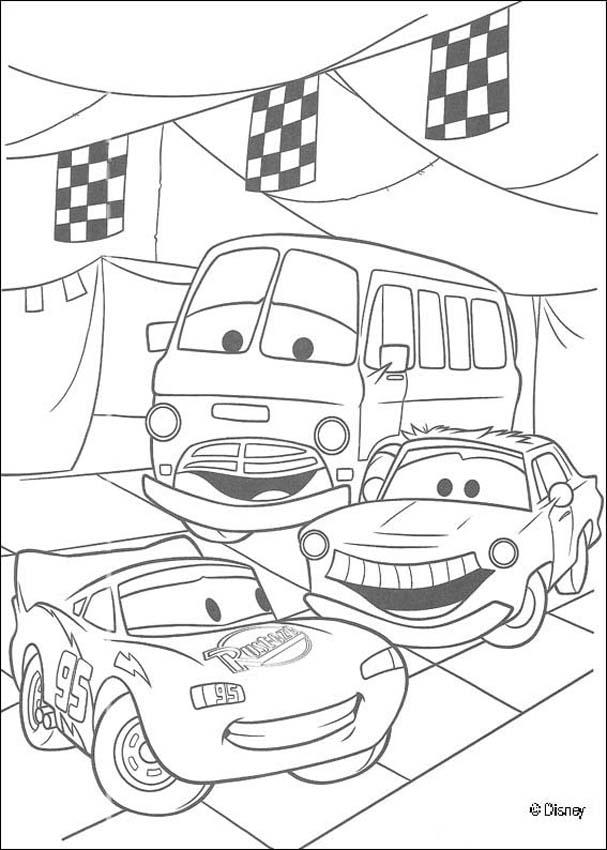 cars disney coloring pages for boys - Coloring For Boys