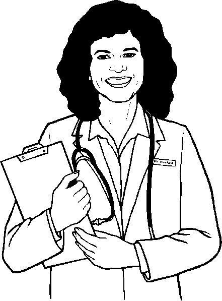 Doctor-Nurse-Colouring-Sheets
