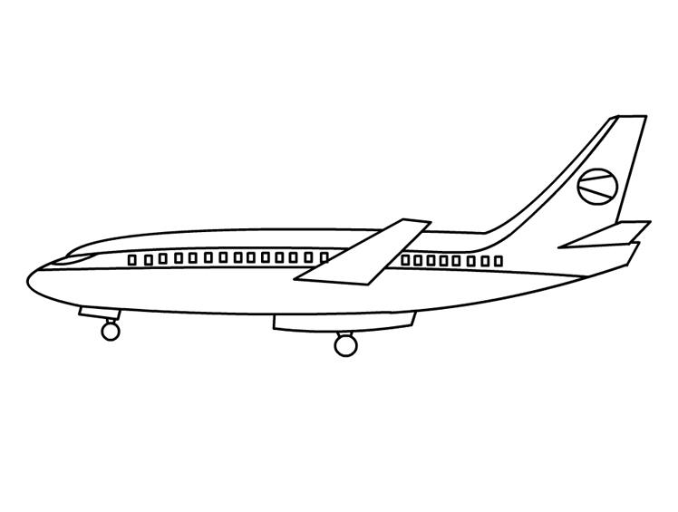 airplane-coloring-pages-beside-view