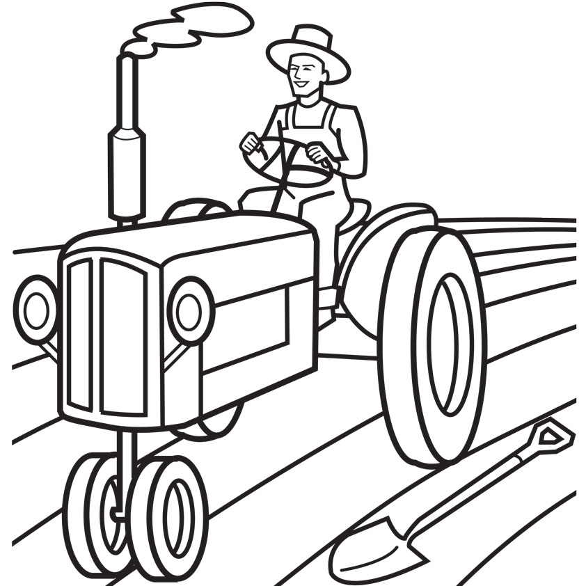 farmer-plowing-coloring-pages