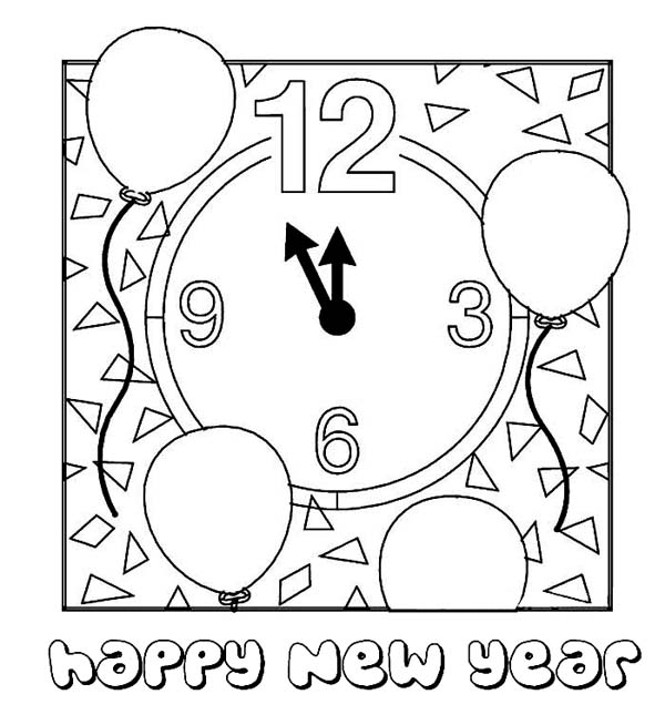 happy-new-year-coloring-pages
