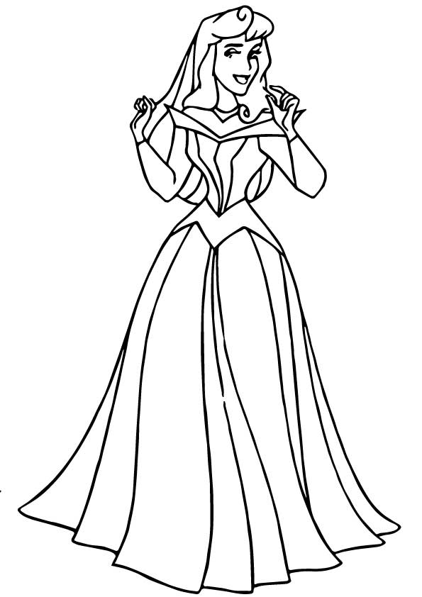 The-aurora-coloring-pages