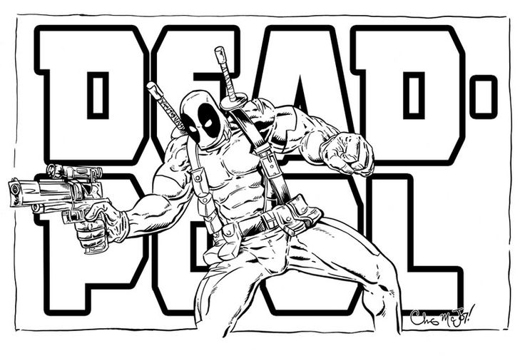 deadpool-coloring-pages