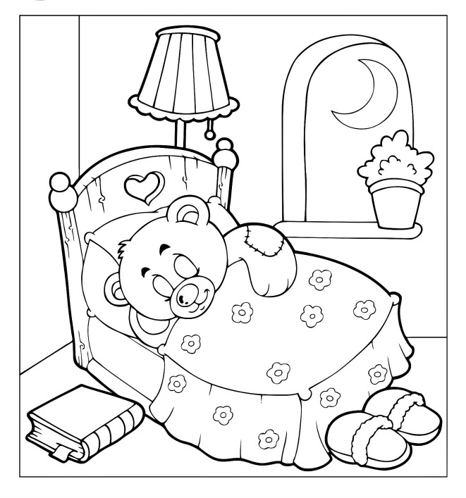 Teddy-Bear-Doll-Coloring-Pages-for-Kids