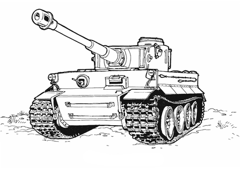 Tank-of-Army-coloring-pages