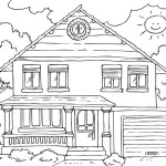 home-coloring-pages