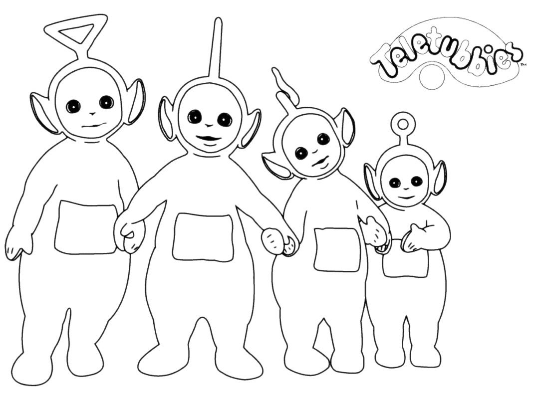Teletubbies Coloring Pages Coloring Pages