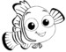 Finding Nemo Coloring Cute Fish