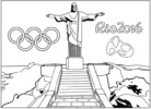 Olympic Rio 2016 Coloring Pages