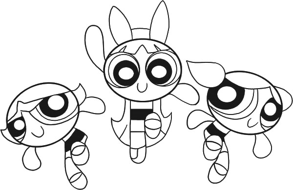 powerpuff-girl-cartoon-coloring-pages