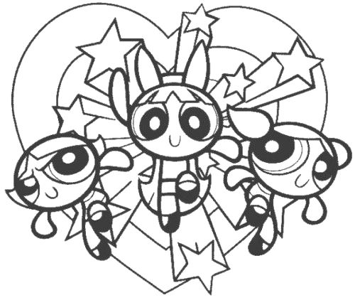 Powerpuff Girls Printable Coloring Pages - Coloring Pages
