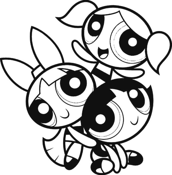 powerpuff-girls-coloring-pages