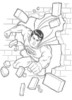 Superman Coloring Pages Make your Children To Be Brave