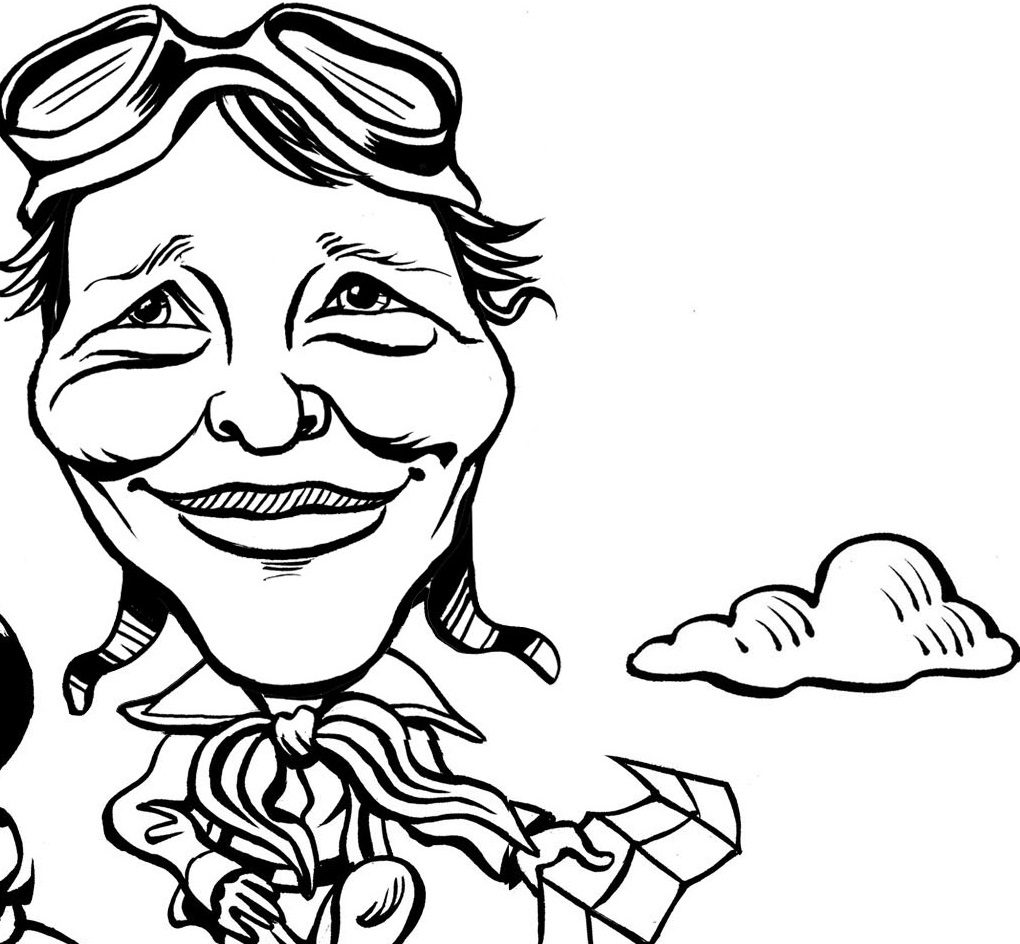 amelia-earhart-coloring-pages