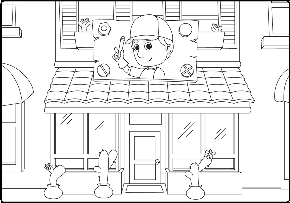 handyman manny coloring pages tom jerry download coloring pages