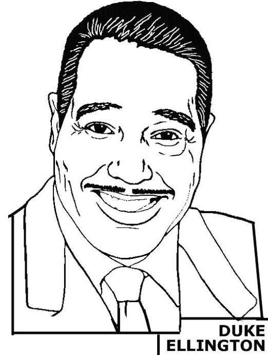 Coloring Pages For Black History Month President Obama Coloring