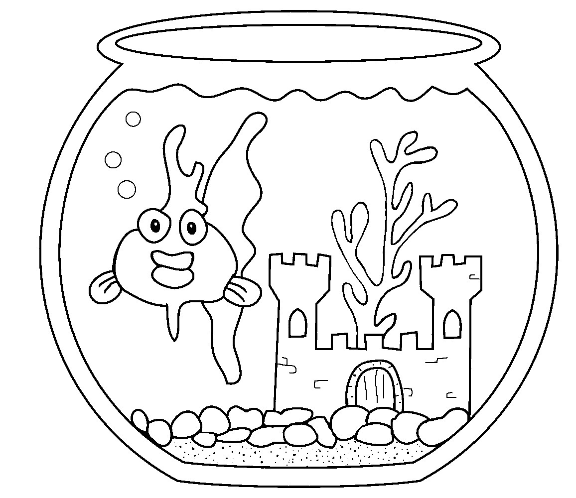Related for aquarium fish coloring pages