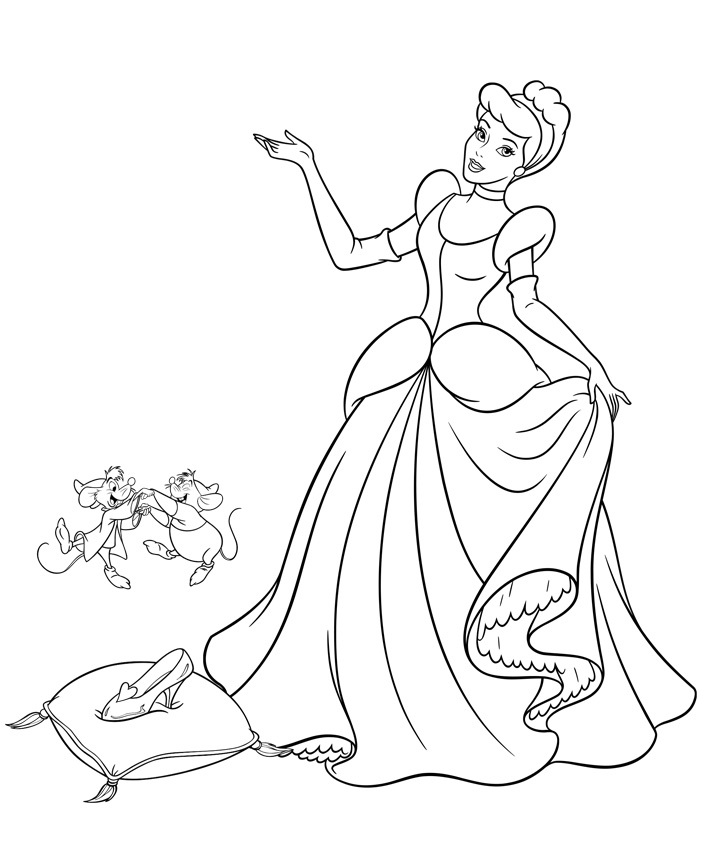 cinderella-free-printable-coloring-pages