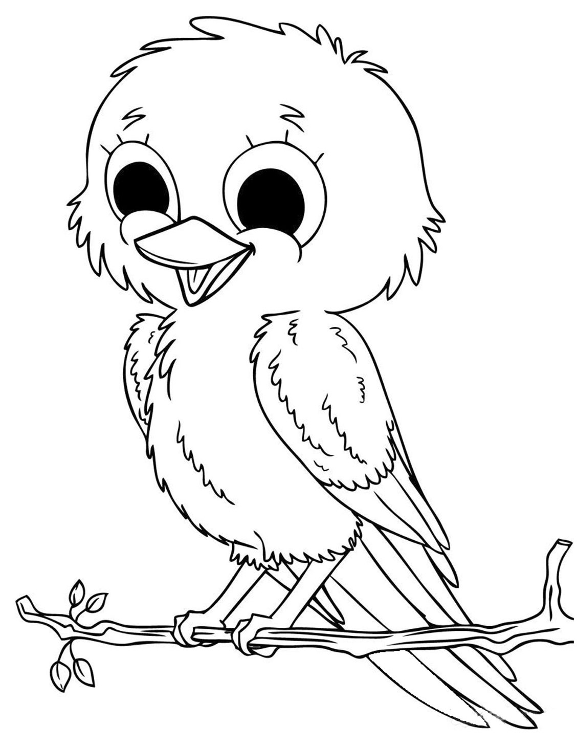 cute animals coloring pages coloring pages - Cute Animal Coloring Pages
