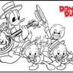 donald-duck-and-her-nephews-coloring-pages-01