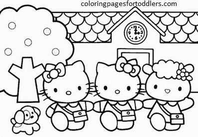 hello-kitty-go-to-school-coloring-pages
