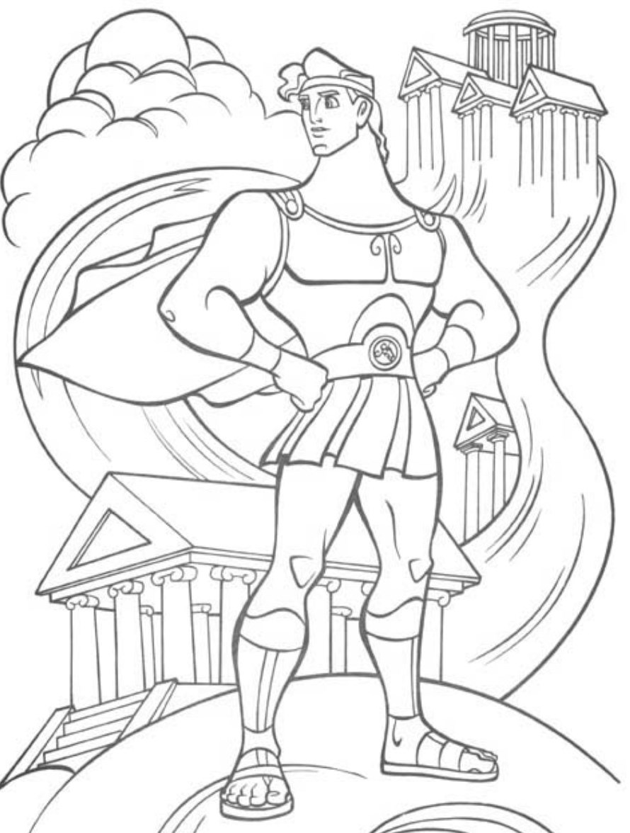 hercules-coloring-sheets