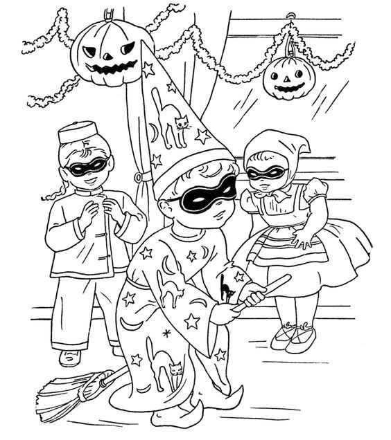 parties-halloween-coloring-pages