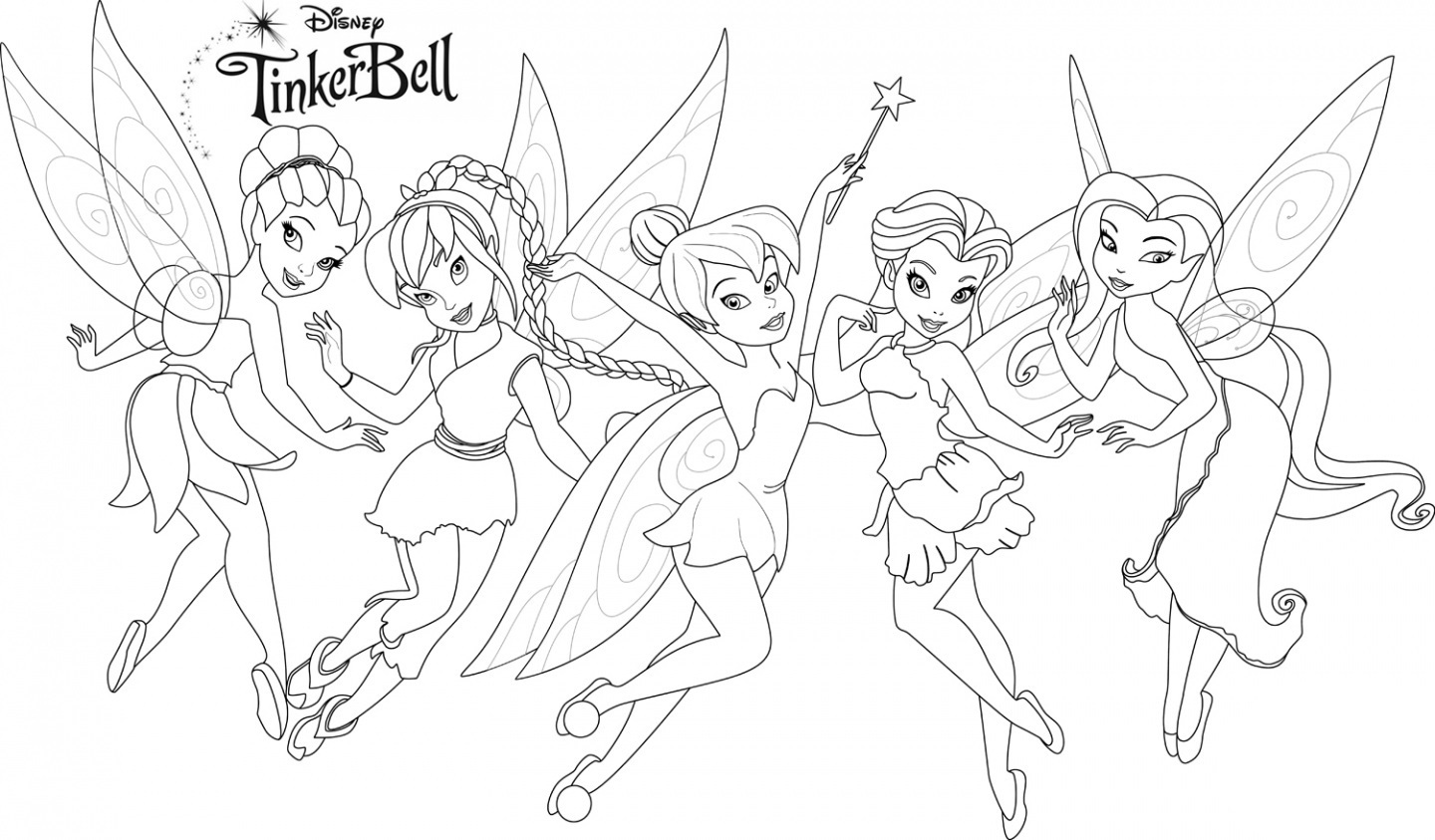 tinkerbell-and-friends-coloring-pages-disney