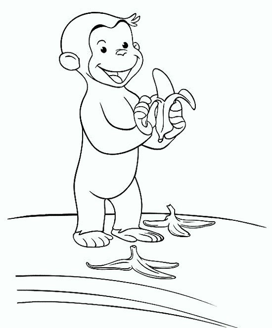 curious-george-coloring-pages