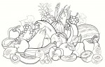 #13 Top Fresh Fruit Coloring Pages for Kids