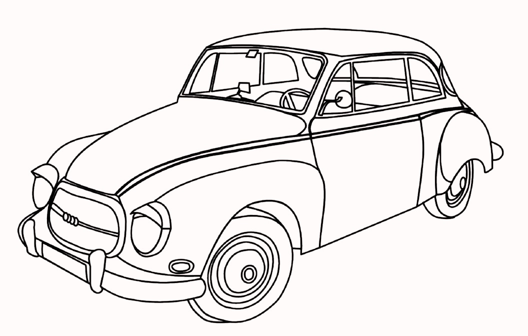 classic-and-antique-car-coloring-pages