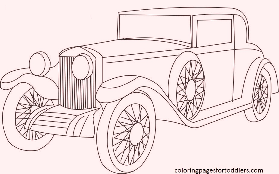 coloring pages classic - photo#25