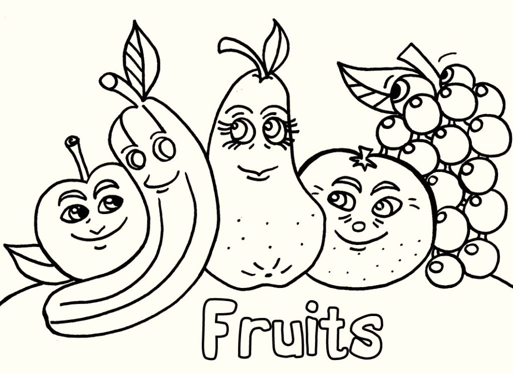 fruit-coloring-pages
